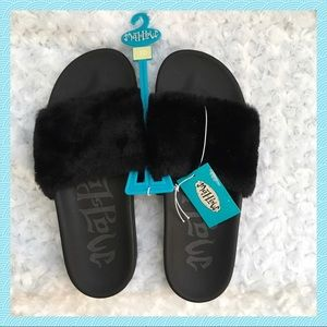 Women's Phoebe Faux Fur Slides